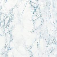 Adhésif décoratif d-c-fix® marbre Cortes bleu 2m x 0.45m