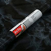 Adhésif décoratif d-c-fix® marbre Marmi noir 2m x 0.675m