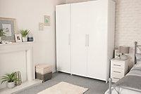 Adhésif décoratif d-c-fix® Uni brillant blanc 2.10m x 0.90m