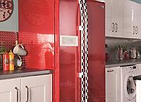 Adhésif décoratif d-c-fix® Uni brillant rouge 2m x 0.45m