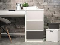 Adhésif décoratif d-c-fix® Uni mat gris 2m x 0.45m