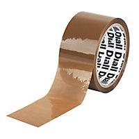 Adhésif d'emballage marron, 50mm x 100m