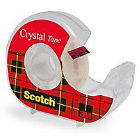 Adhésif de fixation Scotch Crystal 25 m
