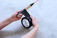 Adhésif de réparation Duck Tape noir, 50mm x 50m