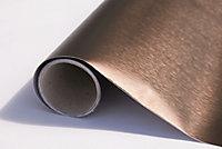 Adhésif métal Platino bronze 67,5cm x 1,5m