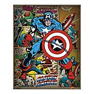 Affiche Captain America 40 x 50 cm