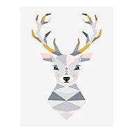 Affiche Cerf 40 x 50 cm