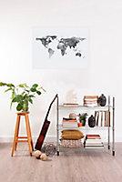 Affiche map blanc 60 x 80 cm