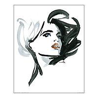 Affiche Valeria Aquarelle 40 x 50 cm Michel Canetti