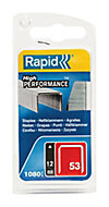 Agrafes Rapid n°53 12 mm, 1080 pièces