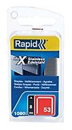 Agrafes Rapid n°53 8 mm inox