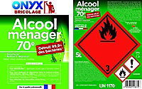 Alcool ménager 70° 5L