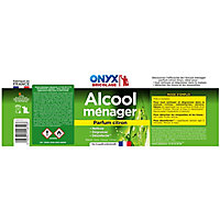 Alcool ménager citron Onyx 1 L