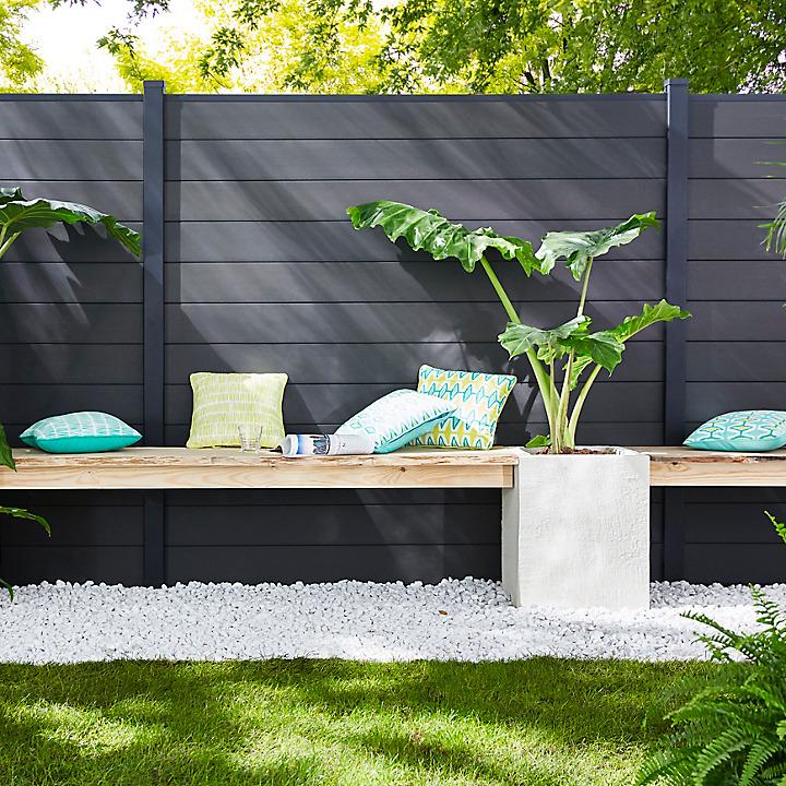 Id es et conseils castorama for Wc exterieur jardin