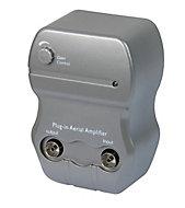 Amplificateur intérieur TV 1 sortie réglable - Fiche coaxiale Blyss