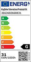 Ampoule éco fluorescent stick G24d-3 26W blanc chaud