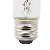 Ampoule décorative LED Diall tube T28 300mm E27 4W=40W blanc chaud