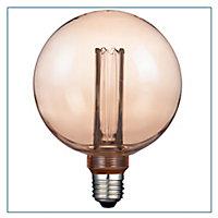 Ampoule décorative LED globeØ 125mm E27 3W=16W Blanc chaud