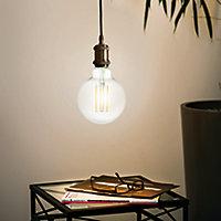 Ampoule LED connectée E27 Globe 1055lm 75W blanc chaud Awox