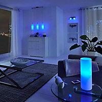 Ampoule LED connectée E27 Globe 1300lm 75W RVB et blanc chaud à blanc froid couleur variable Awox