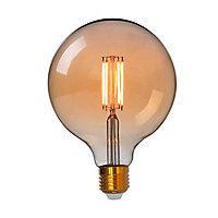Ampoule LED connectée E27 Globe 850lm 63W blanc chaud Awox