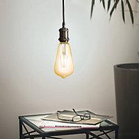 Ampoule LED connectée E27 ST64 500lm 41W blanc chaud Awox