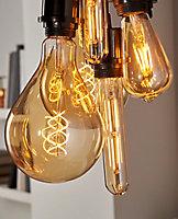 Ampoule LED décorative Diall ballon E27 5W=40W blanc chaud