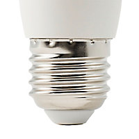 Ampoule LED Diall flamme E27 3W=25W blanc chaud