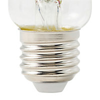 Ampoule LED Diall GLS E27 12W=100W blanc chaud