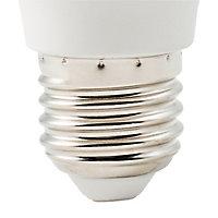 Ampoule LED Diall mini globe E27 3,3W=25W blanc neutre