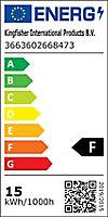 Ampoule LED Diall réflecteur E27 14,5W=120W blanc chaud