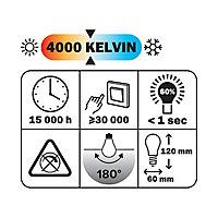 Ampoule LED E27 14W=100W blanc froid