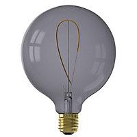 Ampoule LED filament décorative Nora E27 G125 fumée Calex