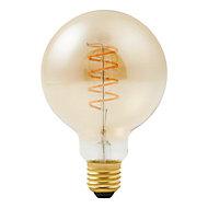 Ampoule LED à filament Diall globe Ø 95mm E27 5W=40W blanc chaud