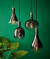 Ampoule LED à filament E27 Spéciale 160lm 7W blanc chaud Diall