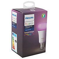 Ampoule LED Philips Hue E27 10W blanc chaud à froid + RVB