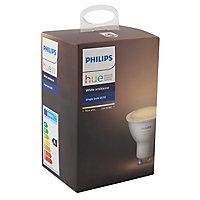 Ampoule LED Philips Hue GU10 5,5W blanc chaud à froid