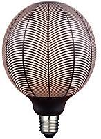 Ampoule Magic pine Globe LED décor noir ø 12,50 cm E27 4W 2700°K 130LM