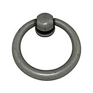Anneau meuble métal gris Théléma Ø33mm