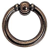 Anneau rond laiton doré vieilli Tama Ø40mm