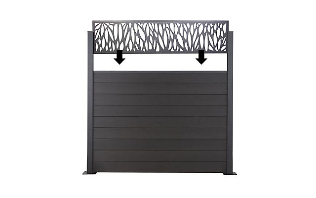 les panneaux composables neva castorama. Black Bedroom Furniture Sets. Home Design Ideas