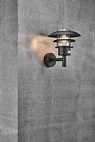 Applique extérieure à détection Marselis E27 IP44 Nordlux Noir