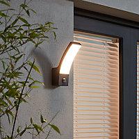Applique extérieure LED à détection Blooma Gambell anthracite IP44