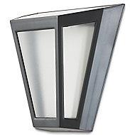 Applique extérieure solaire LED noir IP44