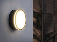 Applique plafonnier extérieur AVA Smart LED 600lm 2200K-6500K IP54 Nordlux Noir
