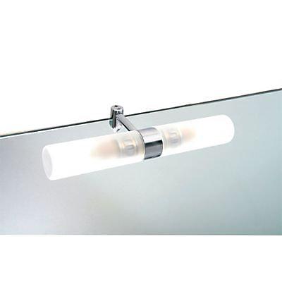 Applique Pour Miroir Salle De Bains Aric Tora Chrome Satine Ip44 Castorama