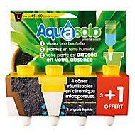 Aquasolo L jaune 30cl, x 3 +1
