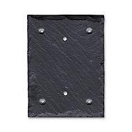 Ardoise en schiste pour support chiffre 11.5 x 15 cm