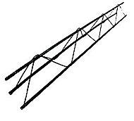 Armature triangle ouvert H90, L.6 m