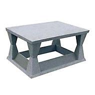 Aspirateur de cheminée en béton Sebicape 20 x 20 cm